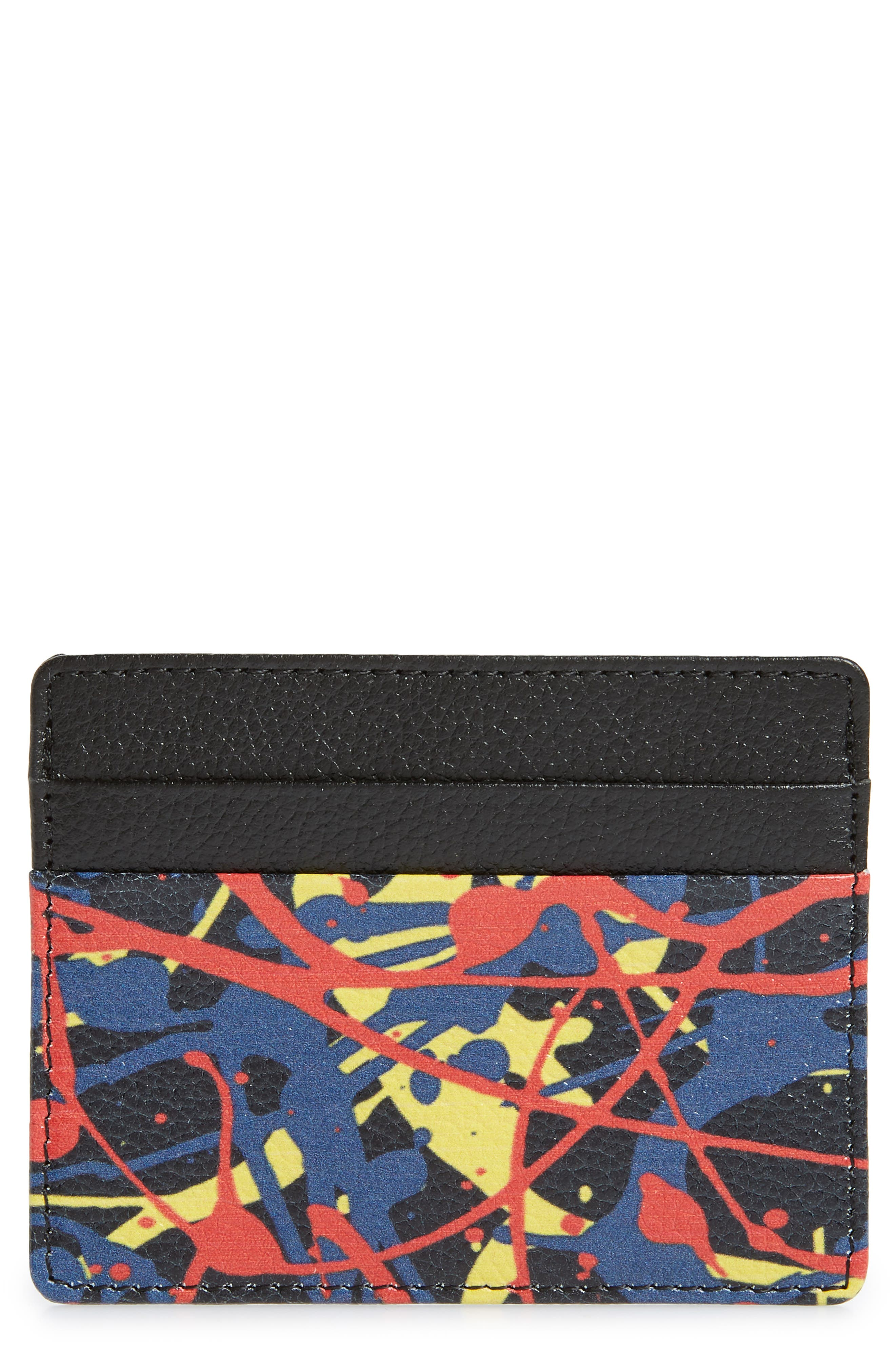,                             Jamie Leather Card Case,                             Main thumbnail 11, color,                             007