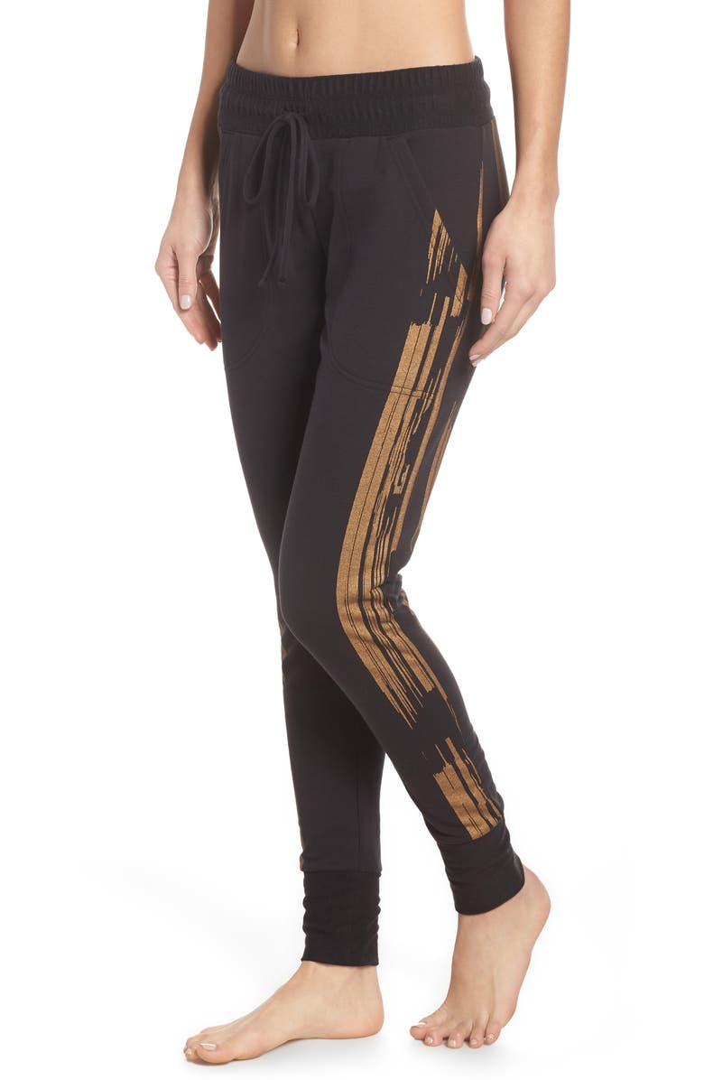 FREE PEOPLE FP Movement Sunny Skinny Sweat Jogger Pants, Main, color, 004