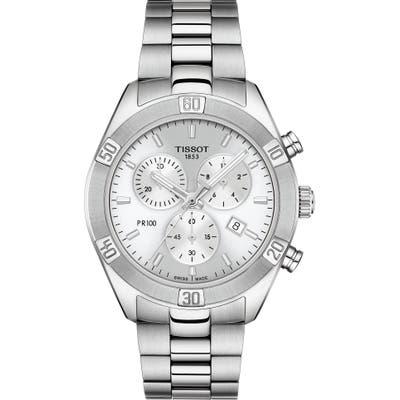 Tissot Pr 100 Classic Chronograph Bracelet Watch,