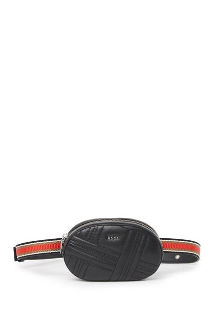 Image of DKNY Allen Leather Belt Bag