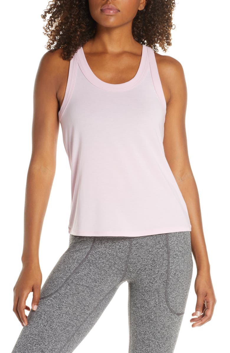 ZELLA Zellness Tank, Main, color, PURPLE FRAGRANT