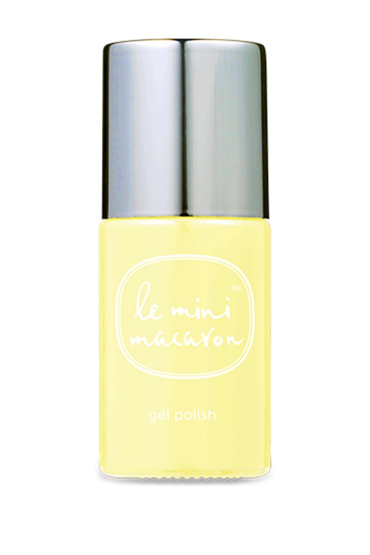 Image of LE MINI MACARON Gel Nail Polish - Lemon Sorbet