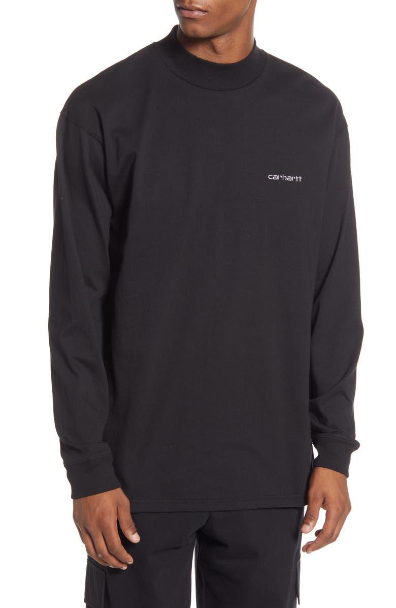 CARHARTT WORK IN PROGRESS Long Sleeve T-Shirt, Main, color, 001