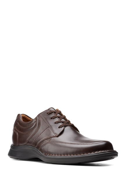 Image of Clarks Kempton Leather Derby - Wide Width Available