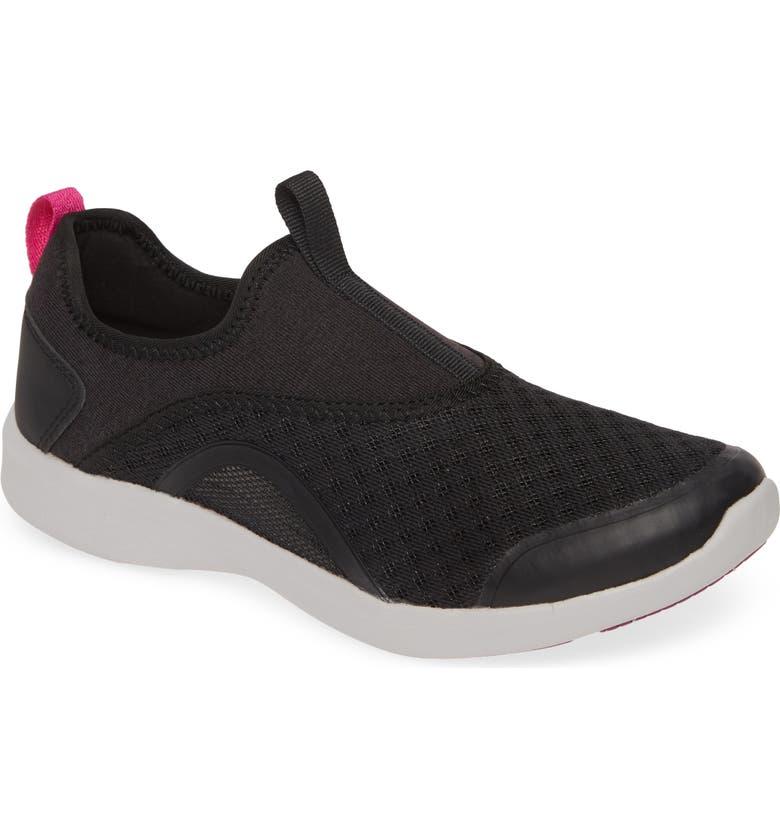 VIONIC Yvonne Sneaker, Main, color, BLACK
