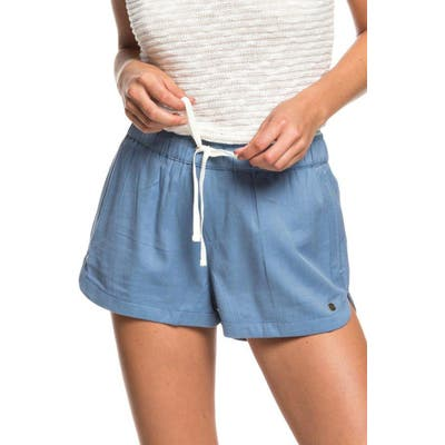 Roxy New Impossible Love Shorts, Blue