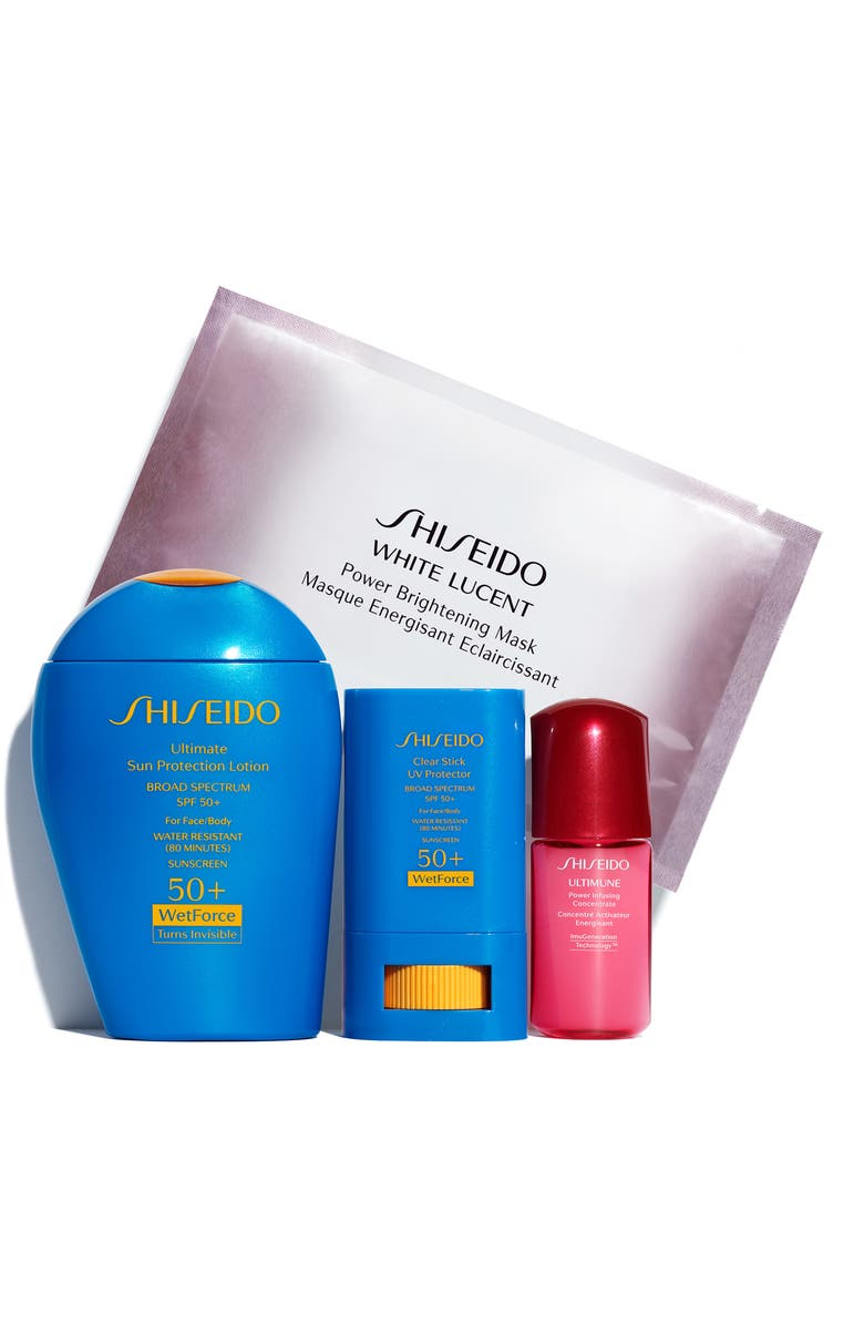 SHISEIDO Protect & Play Active Sunscreen Set, Main, color, 000