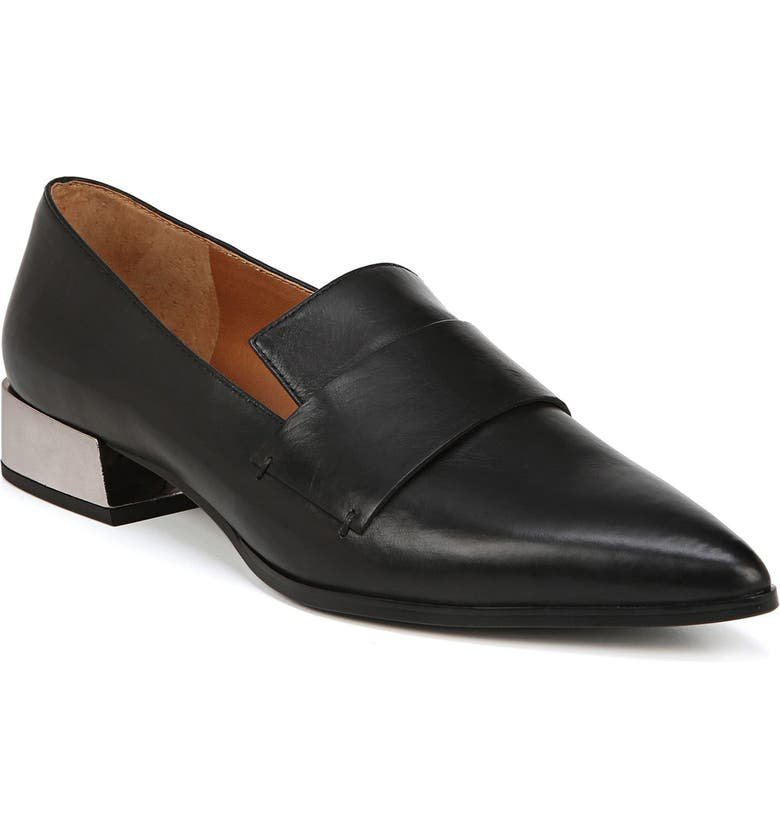 SARTO BY FRANCO SARTO Nebby Loafer, Main, color, BLACK LEATHER
