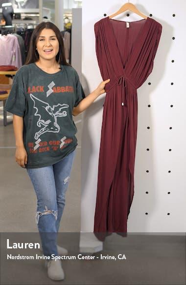 Wrap Maxi Cover-Up Dress, sales video thumbnail
