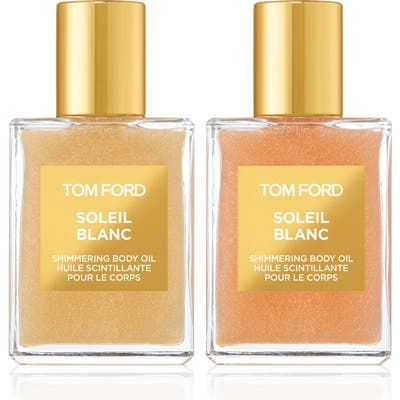 Tom Ford Soleil Blanc Shimmering Body Oil Mini Duo ($90 Value)