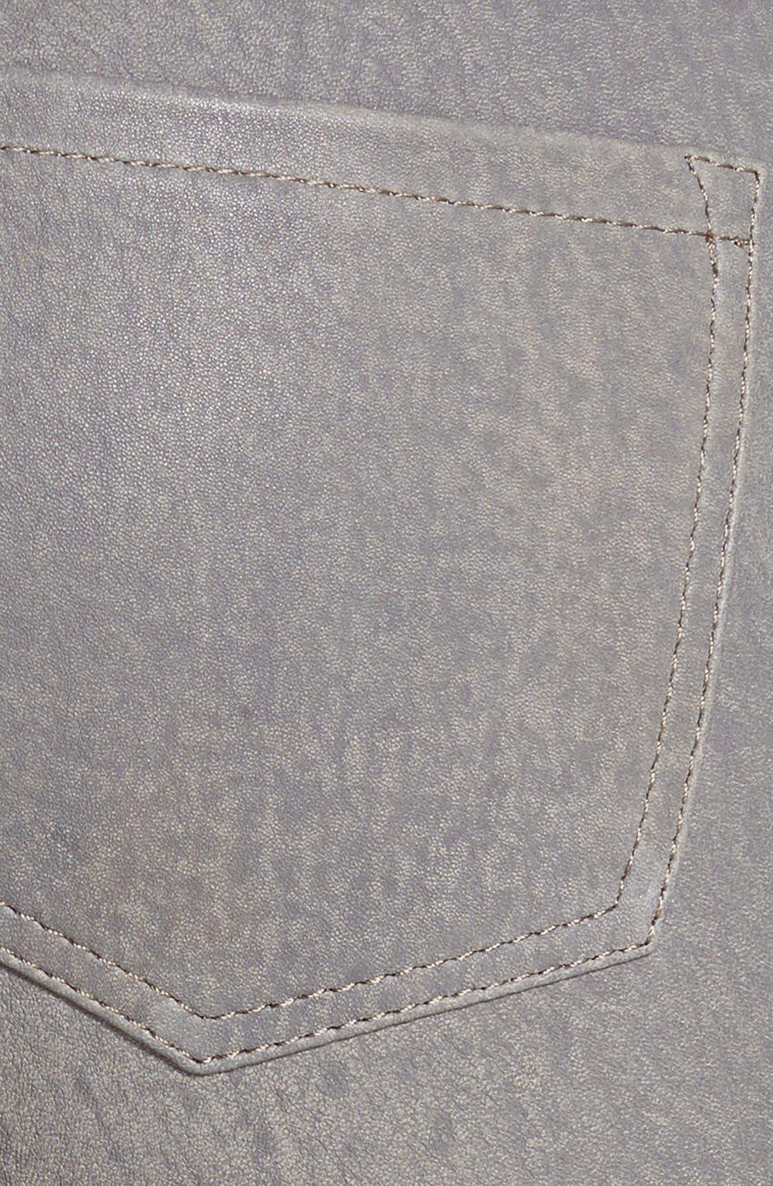 ,                             '8001' Lambskin Leather Pants,                             Alternate thumbnail 46, color,                             024