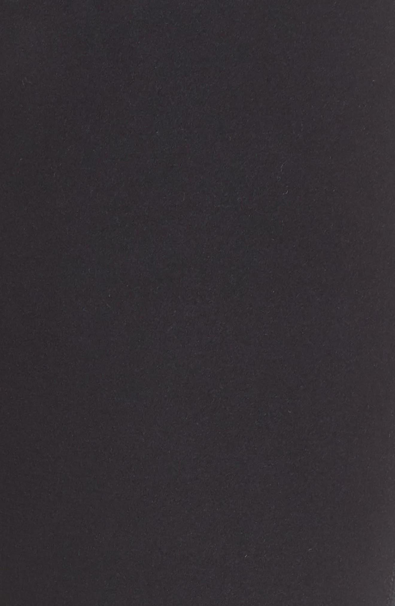 ,                             High Waist Lounge Leggings,                             Alternate thumbnail 6, color,                             BLACK