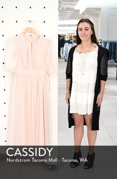Louise Mini Dot Flared Dress, sales video thumbnail