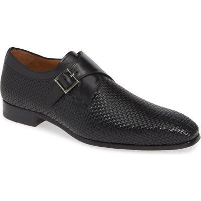 Mezlan Sabato Monk Strap Shoe- Black