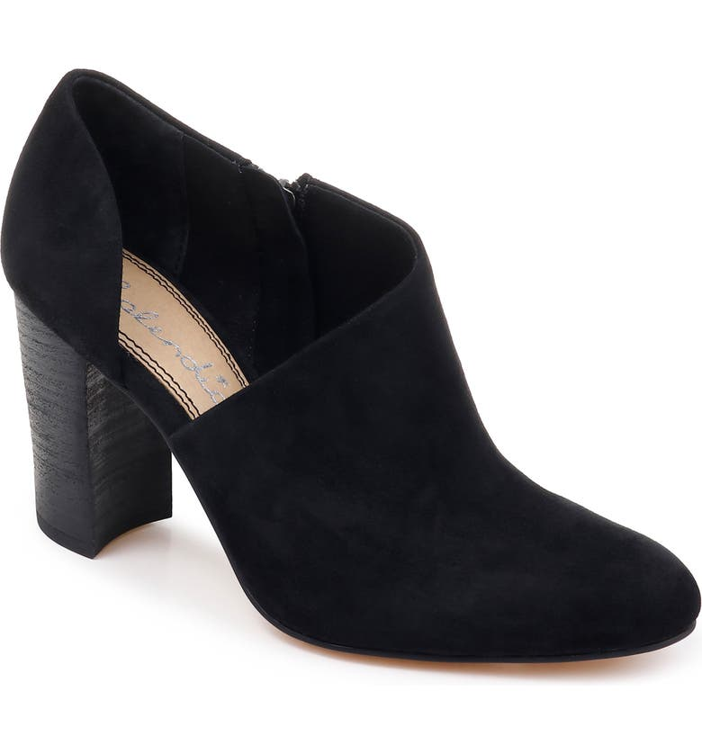 SPLENDID Hibiscus Bootie, Main, color, BLACK SUEDE
