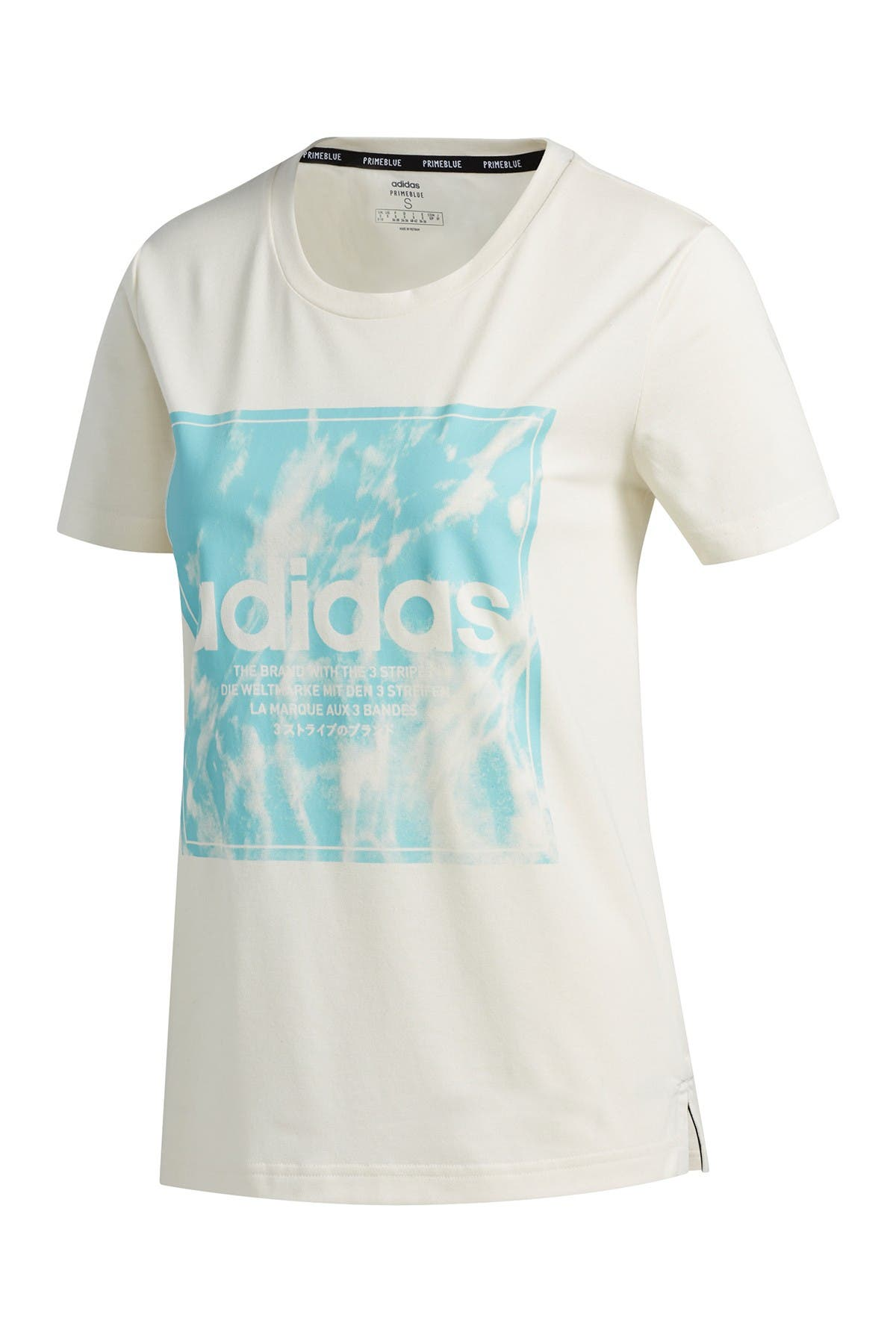 Image of adidas Primeblue Logo Graphic T-Shirt