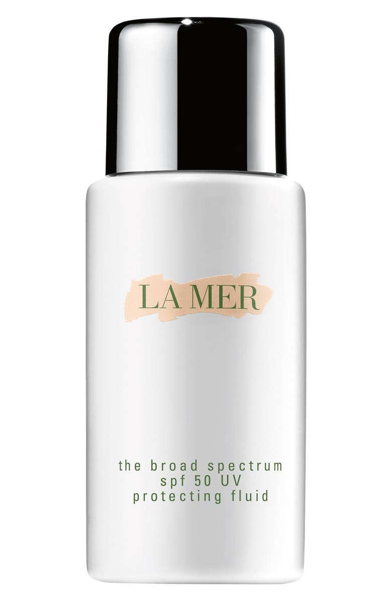 LA MER The Broad Spectrum SPF 50 Daily UV Protecting Fluid Sunscreen, Main, color, NO COLOR