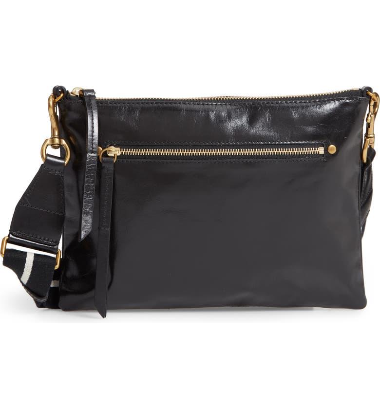 ISABEL MARANT Nessah Leather Crossbody Bag, Main, color, 006