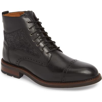 J & m 1850 Fullerton Zip Boot, Black