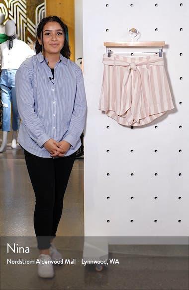 Katy Stripe Shorts, sales video thumbnail