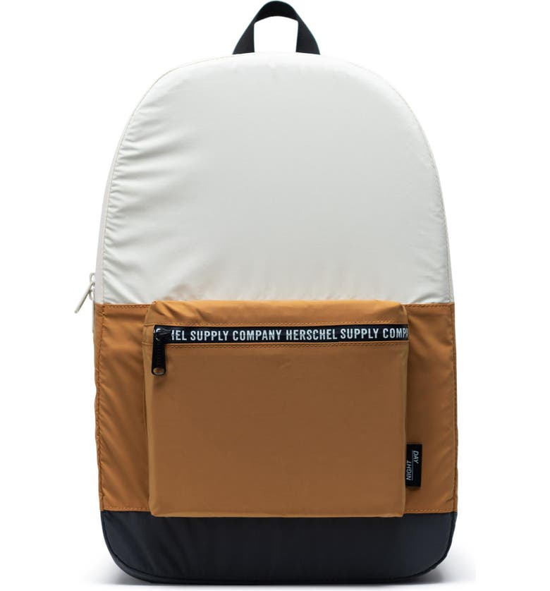 HERSCHEL SUPPLY CO. Day/Night Backpack, Main, color, BLACK/ BROWN/ OVERCAST
