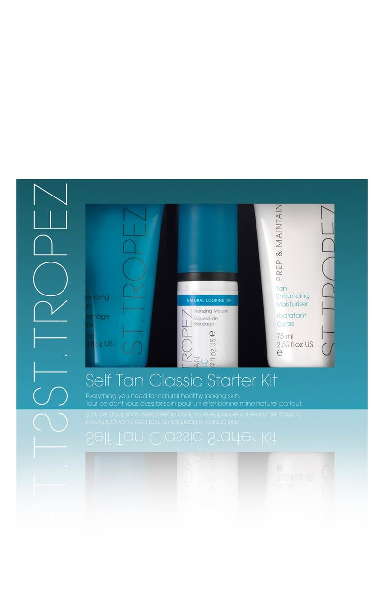 ST. TROPEZ Self Tan Starter Kit, Main, color, NO COLOR