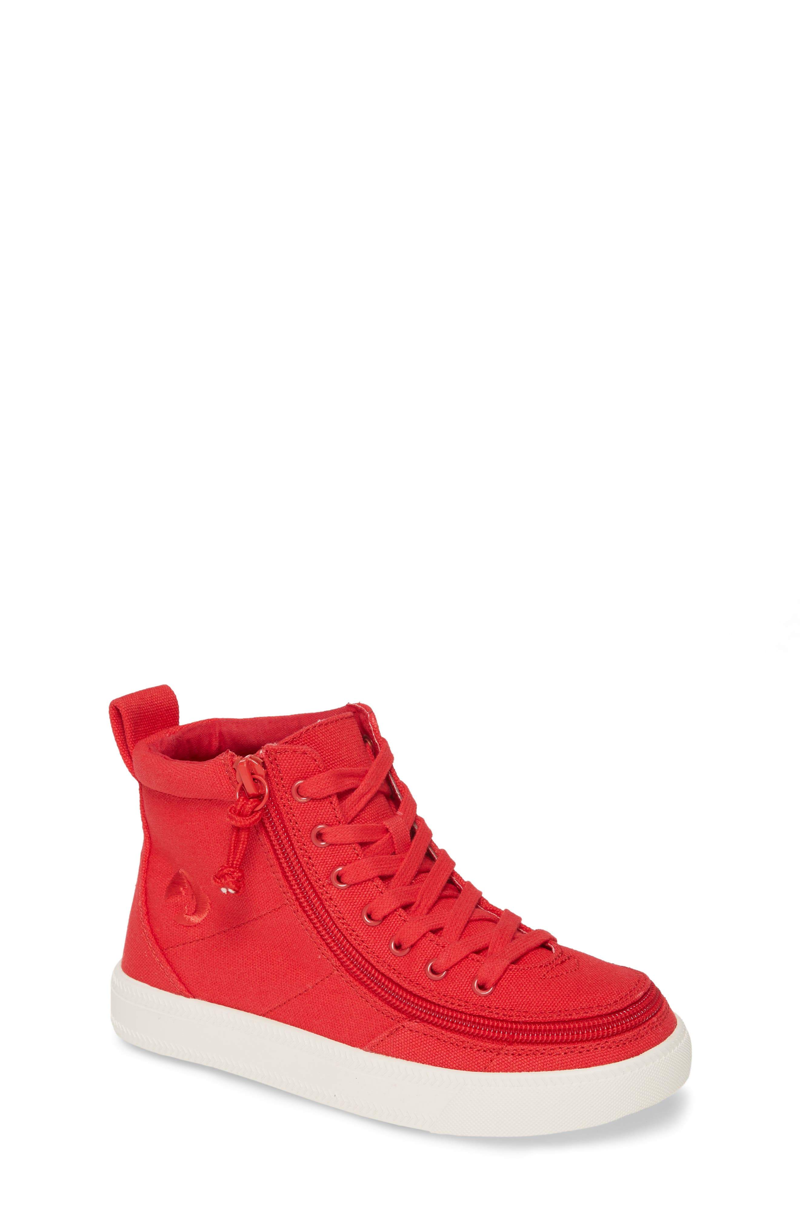 Toddler Billy Footwear Classic HiRise Sneaker Size 5 M  Red
