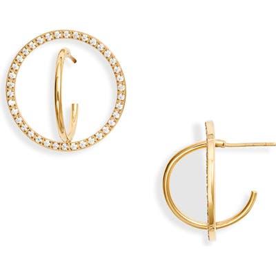 Knotty Orbit Stud Earrings