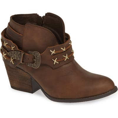Very Volatile Vesey Bootie, Brown