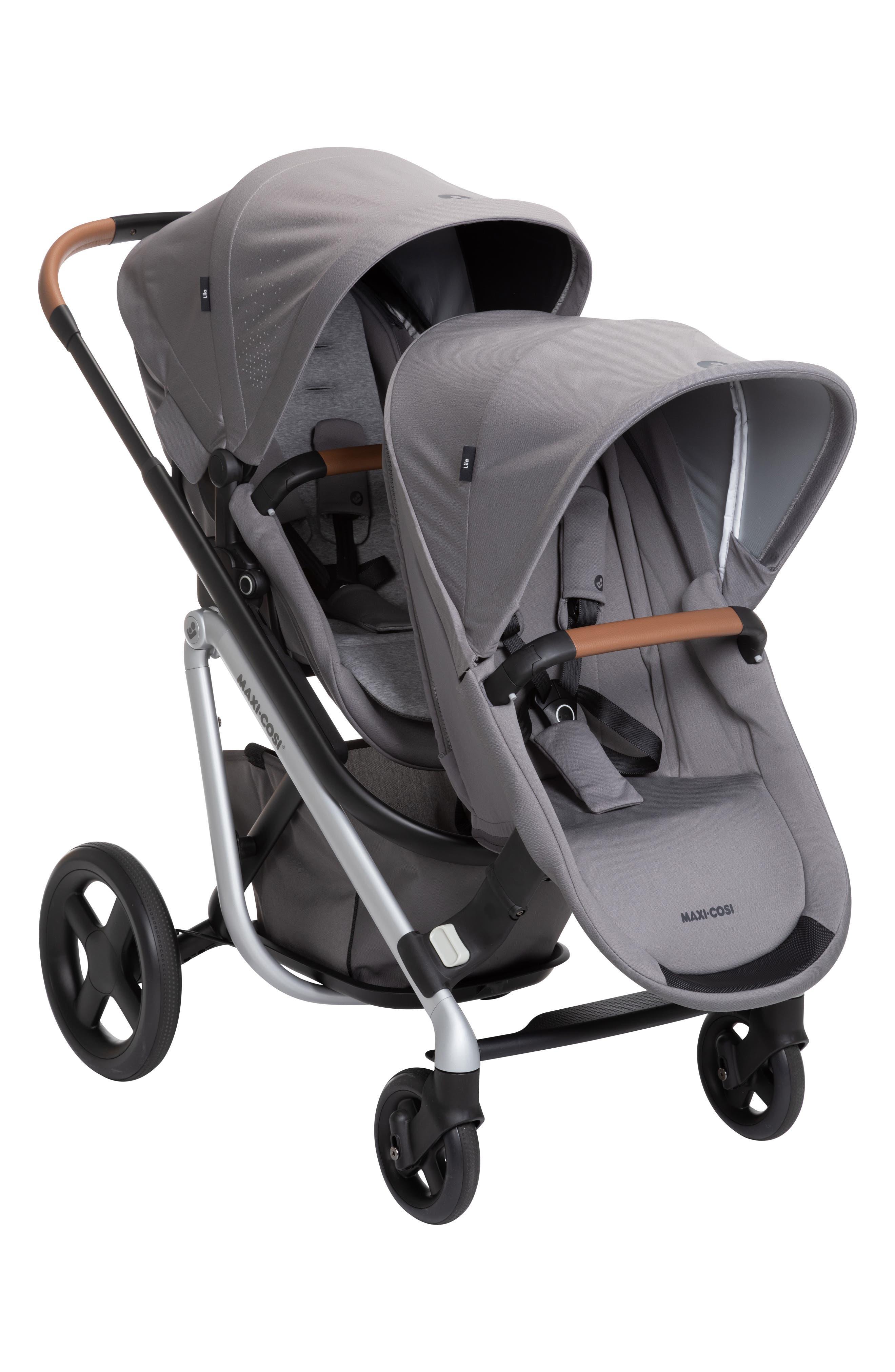 Infant MaxiCosi Lila Duo Sibling Seat Kit Size One Size  Grey