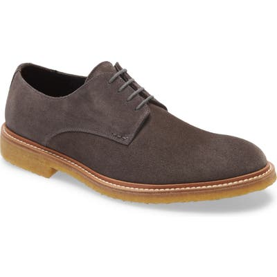 To Boot New York Park Plain Toe Derby- Grey