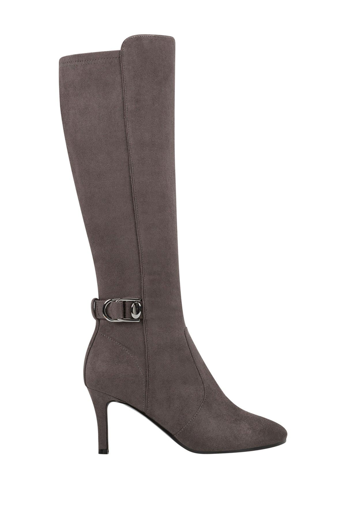 Image of Bandolino Delfie Tall Buckled Stiletto Boot
