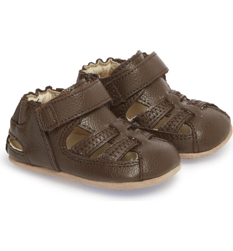 ROBEEZ<SUP>®</SUP> Sandal, Main, color, BROWN