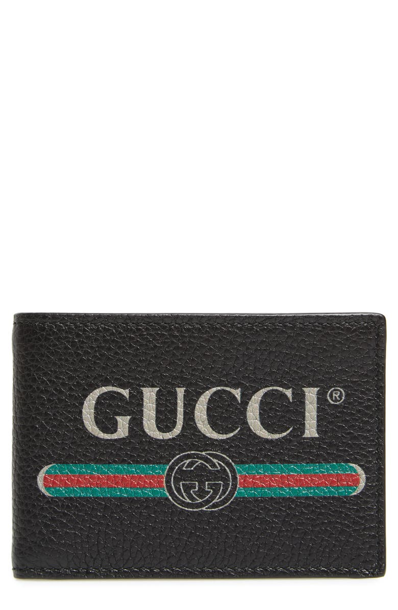 GUCCI Bifold Wallet, Main, color, 001