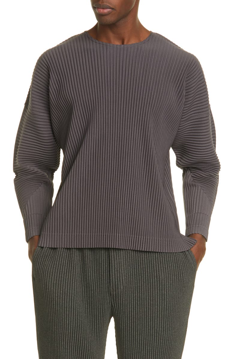 HOMME PLISSÉ ISSEY MIYAKE MC Pleated Top, Main, color, 240