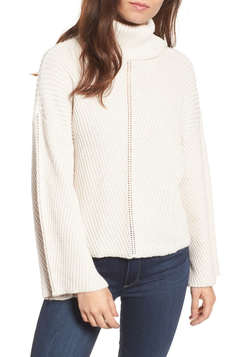 CUPCAKES AND CASHMERE Randy Turtleneck Sweater, Main, color, 260