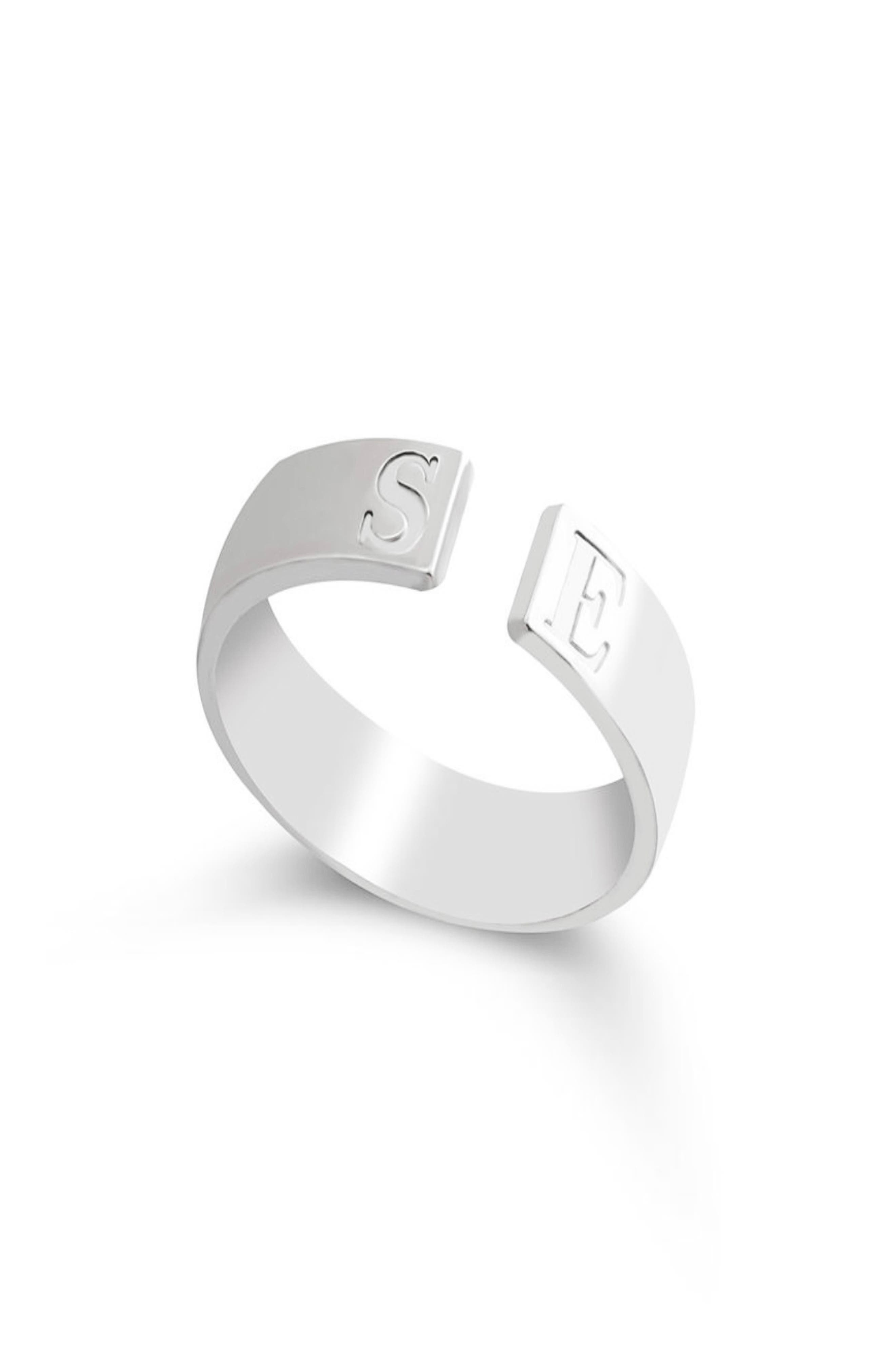 Personalized Open Band Ring