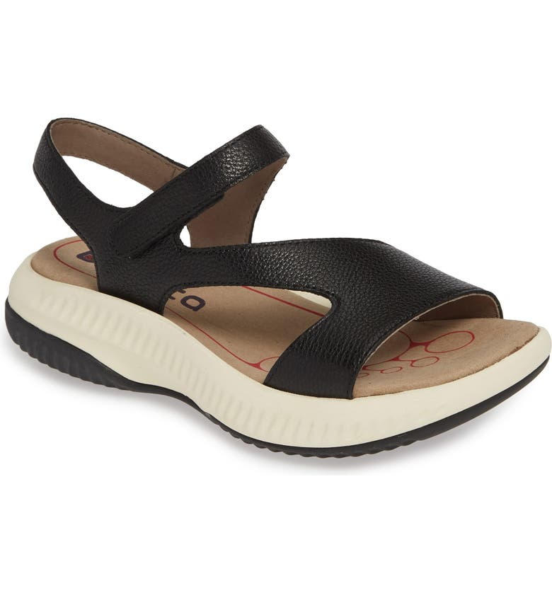 BIONICA Cybele 2 Sandal, Main, color, BLACK LEATHER