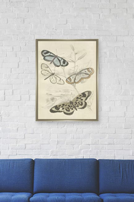 Image of PTM Images Large Swamp Insects Canvas Wall Art