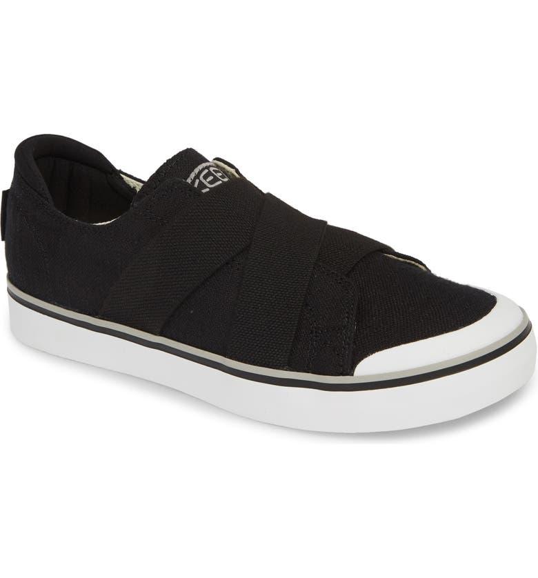 KEEN Elsa III Slip-On Sneaker, Main, color, 001
