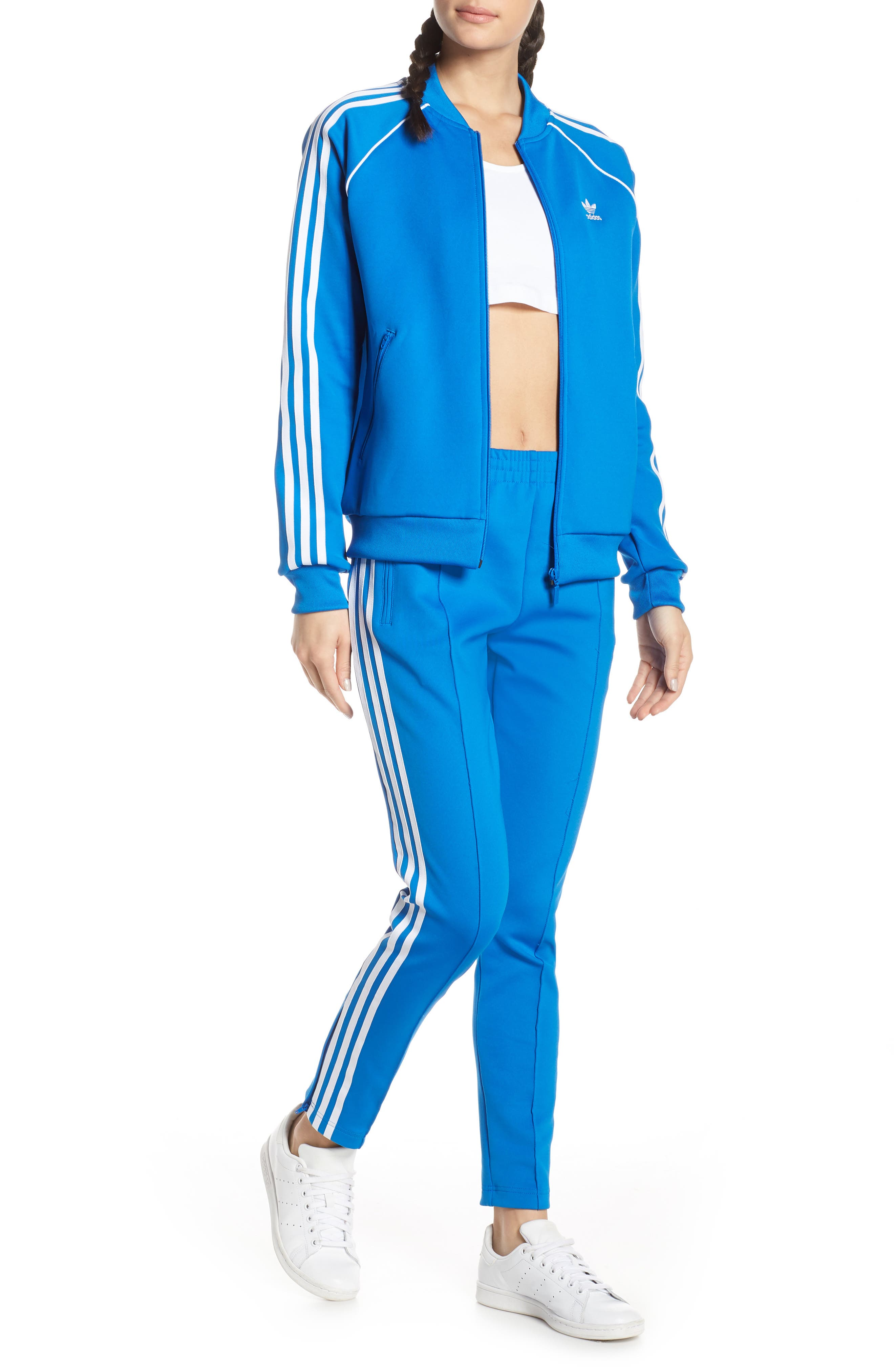 ,                             adidas SST Track Pants,                             Alternate thumbnail 8, color,                             430