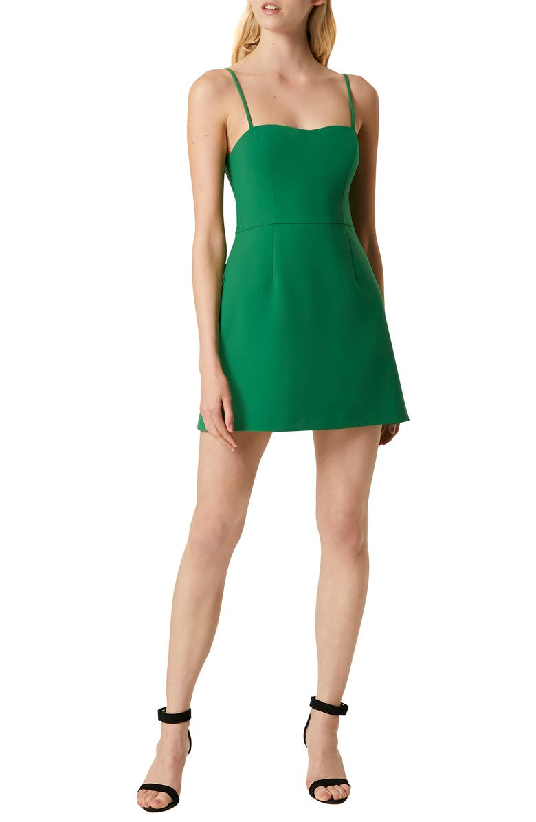 FRENCH CONNECTION Whisper Light Sweetheart Minidress, Main, color, 363