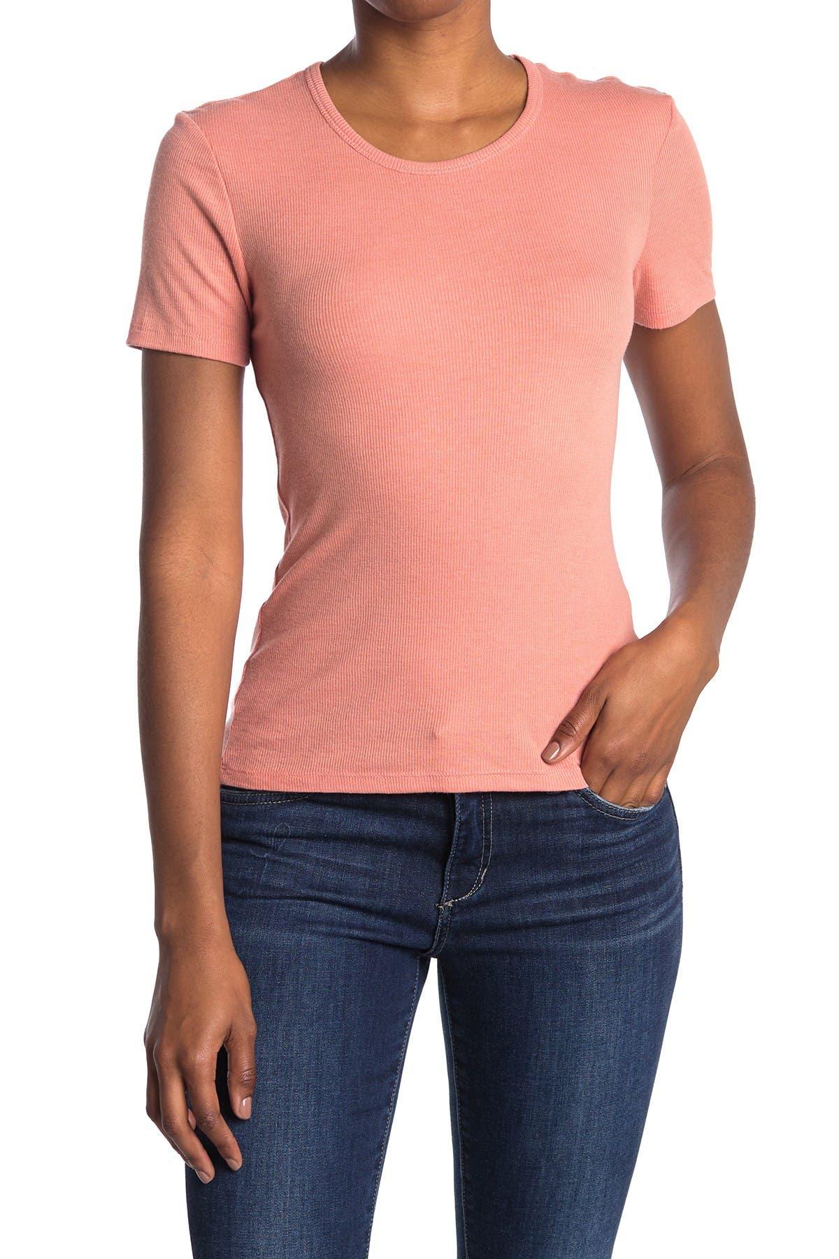Image of Alternative The Mia Rib Knit Lounge T-Shirt