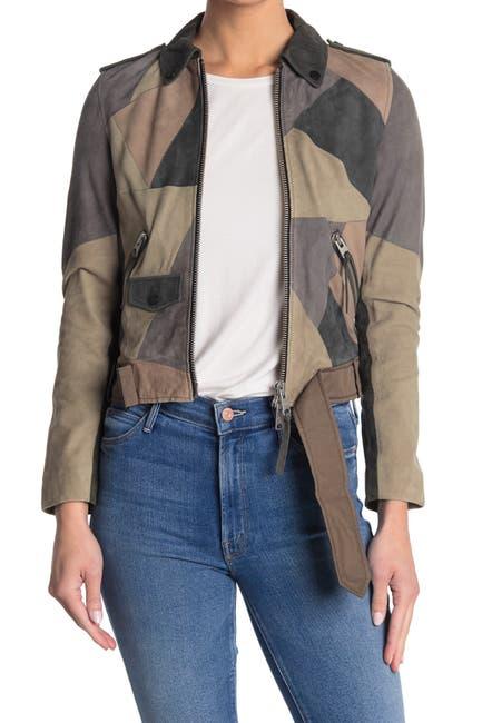 Image of ALLSAINTS Turner Leather Jacket