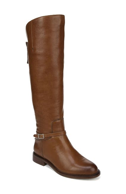 Image of Franco Sarto Haylie Leather Knee High Boot - Wide Calf