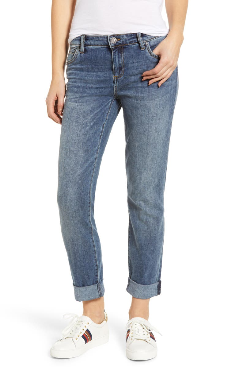 KUT FROM THE KLOTH Catherine Slim Boyfriend Jeans, Main, color, 482