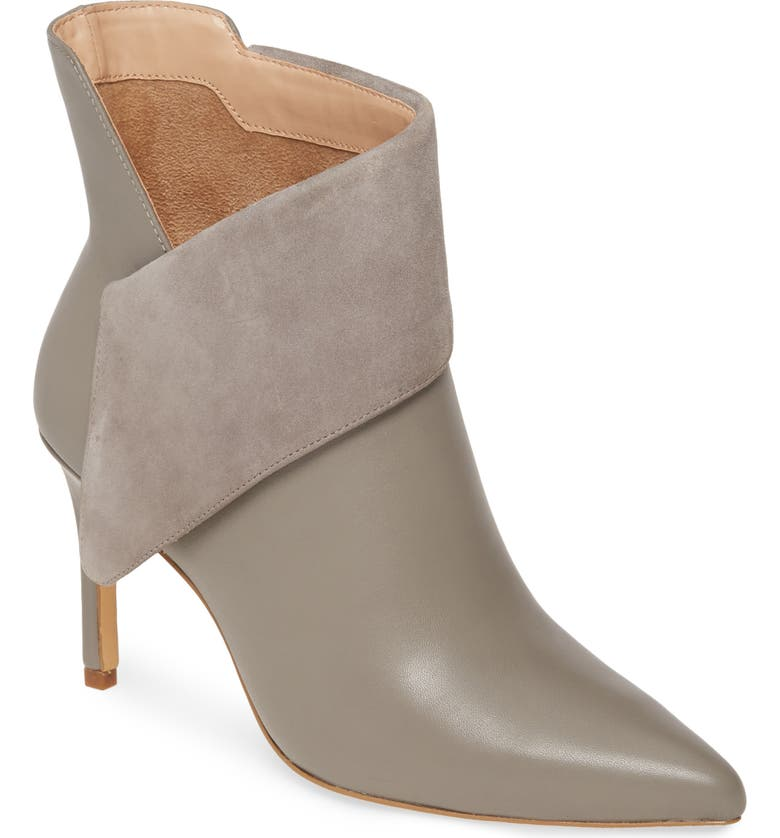 CHARLES DAVID Deluxe Bootie, Main, color, CHARCOAL SUEDE