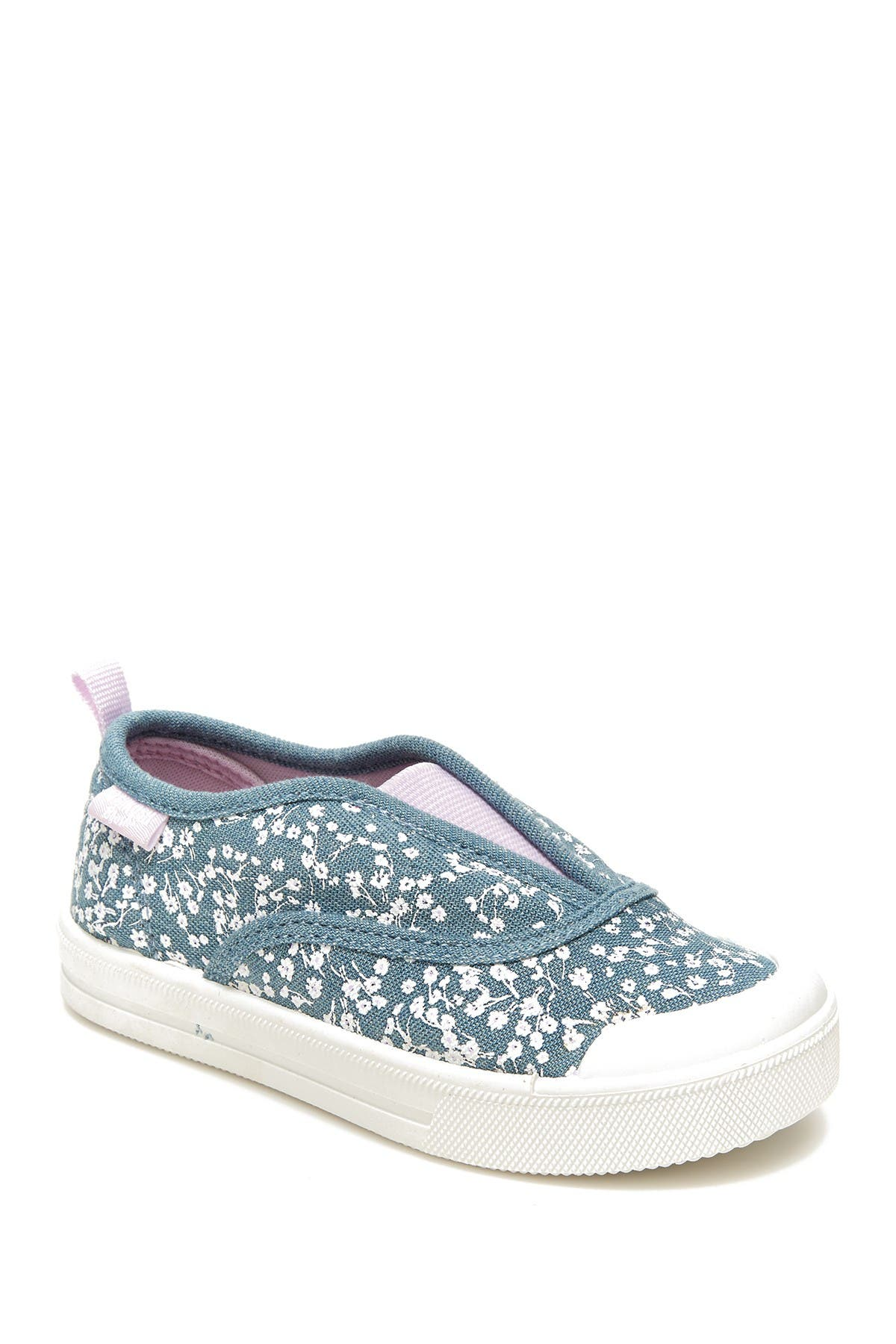 Image of OshKosh Lita Floral Print Slip-On Sneaker