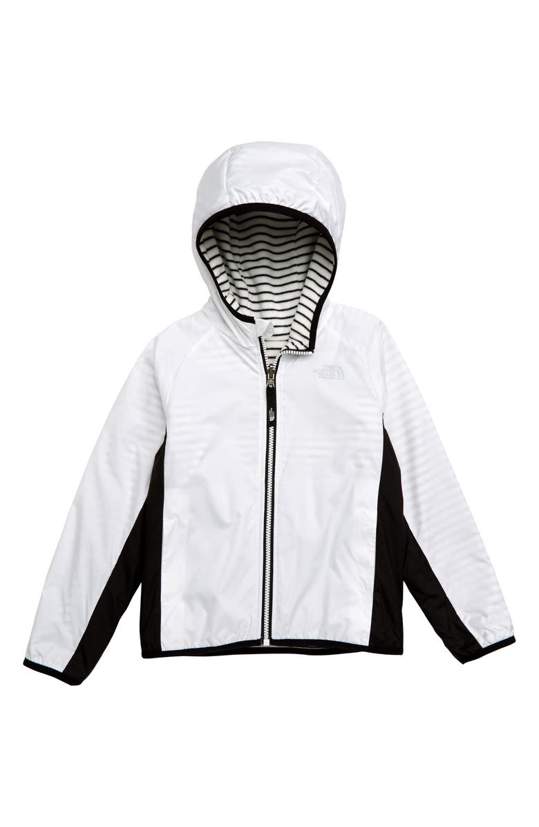 THE NORTH FACE Breezeway Reversible Water Repellent Windproof Jacket, Main, color, 100