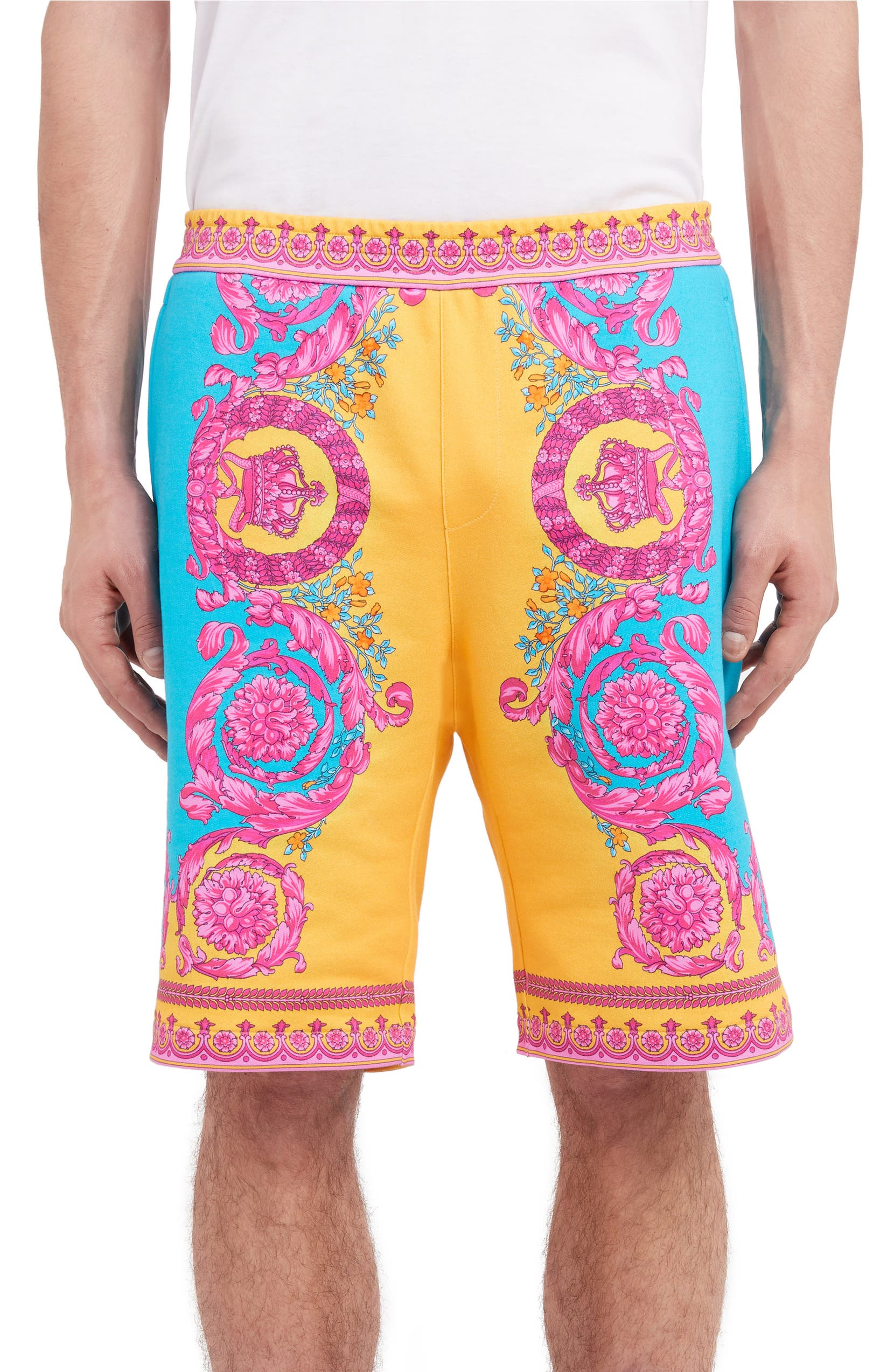 cd746080 Versace Multicolor Felpa Shorts | Nordstrom
